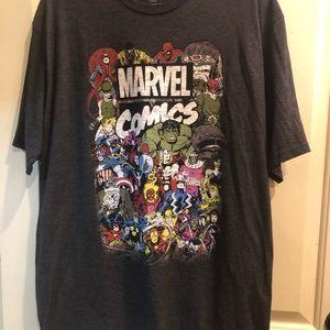 Marvel Comics Men's T-Shirt 2XL
